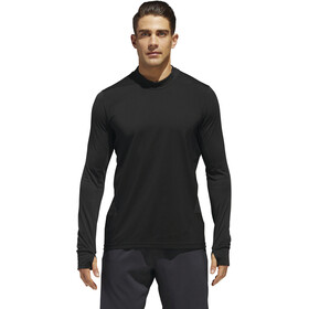 adidas Supernova Dark Knight Running Long Sleeve Tee Men Black
